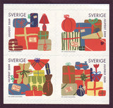 SW26271 Sweden booklet MNH,  Wrapped Gifts - Christmas 2009