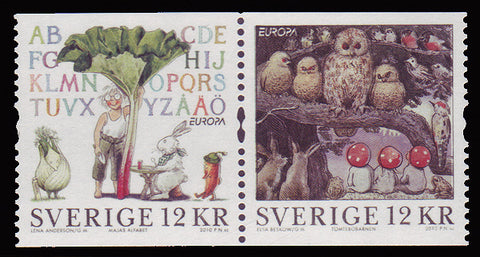SW2630 Sweden  # 2630 MNH,  Children's Books -  Europa 2010