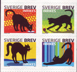 SW26311 Sweden booklet      # 2631 MNH,              Black Cats 2010