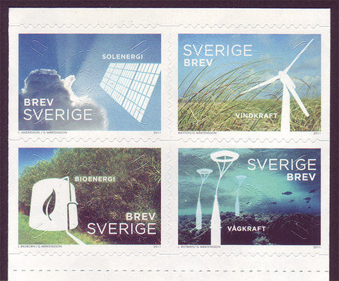 SW26581 Sweden     # 2658 MNH,                  Renewable Energy 2011
