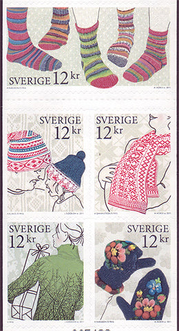 SW2671 Sweden booklet      # 2671 MNH,             Winter Clothing 2011