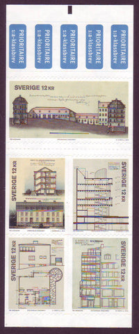 SW2704 Sweden booklet MNH,              Architecture 2013