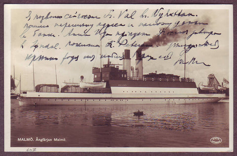 "SW6001aWJ Sweden  Steamship ""Malmo"" on"