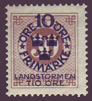 SWB091 Sweden Scott # B9 MNH**