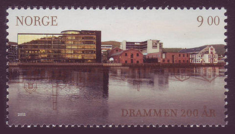 NO164711 Norway Scott # 1647 MNH, Drammen Bicentennial - 2011