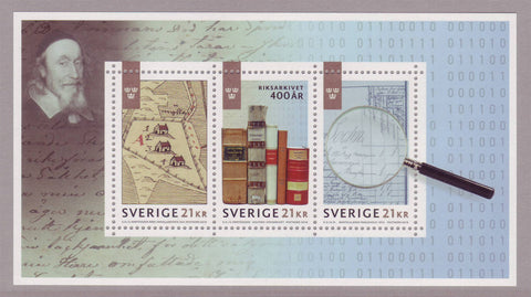 SW2901 Sweden, National Archives of Sweden 400 years - 2018