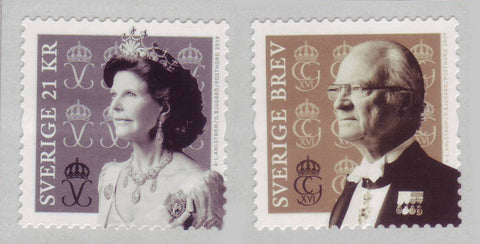 SW2919 Sweden, King Carl Gustaf and Queen Silvia 2019