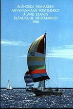 Aland Year Set cover showing sailboats and blue sky.