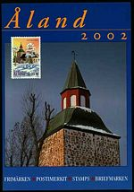 Aland Year Set cover showing church in a winter landscape.