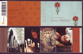 FI1128 Finland Stamp # 1128 booklet MNH, Christianity 1000 Years
