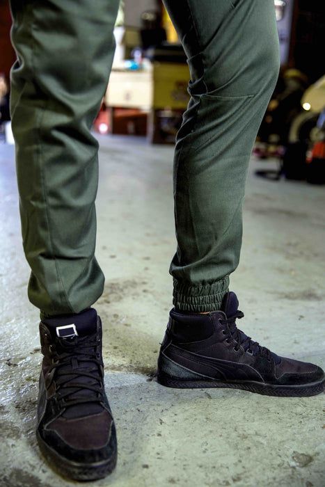 Army Green Cargo Trouser
