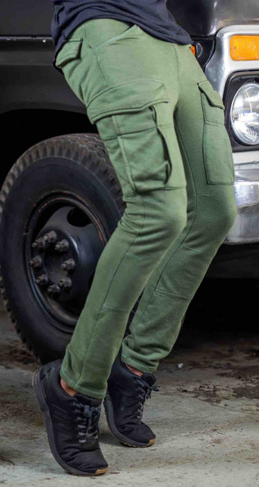 Olive Green Utility Sweats
