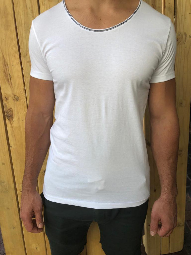 Back To Basics White Tee