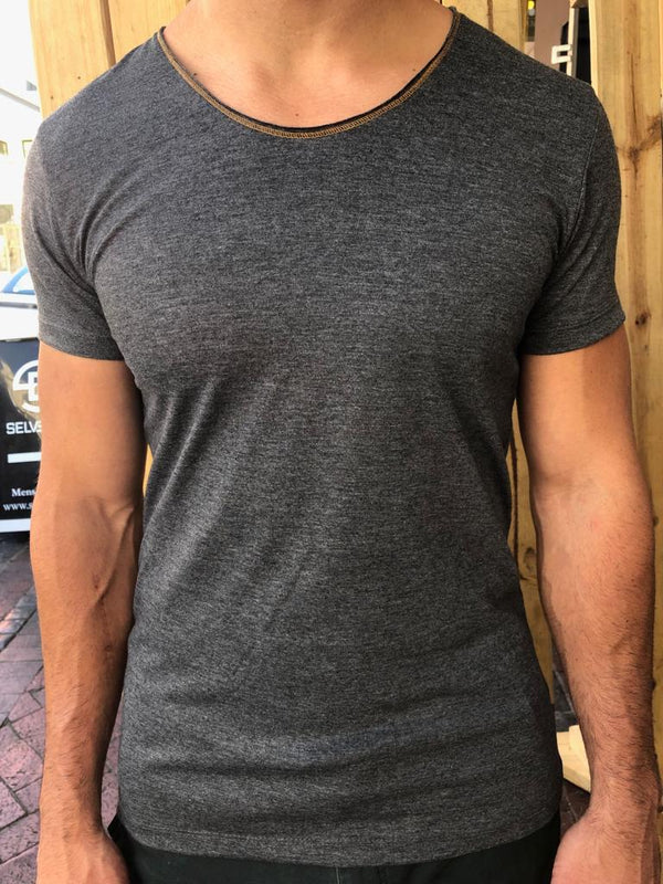 Back To Basic Grey Tee