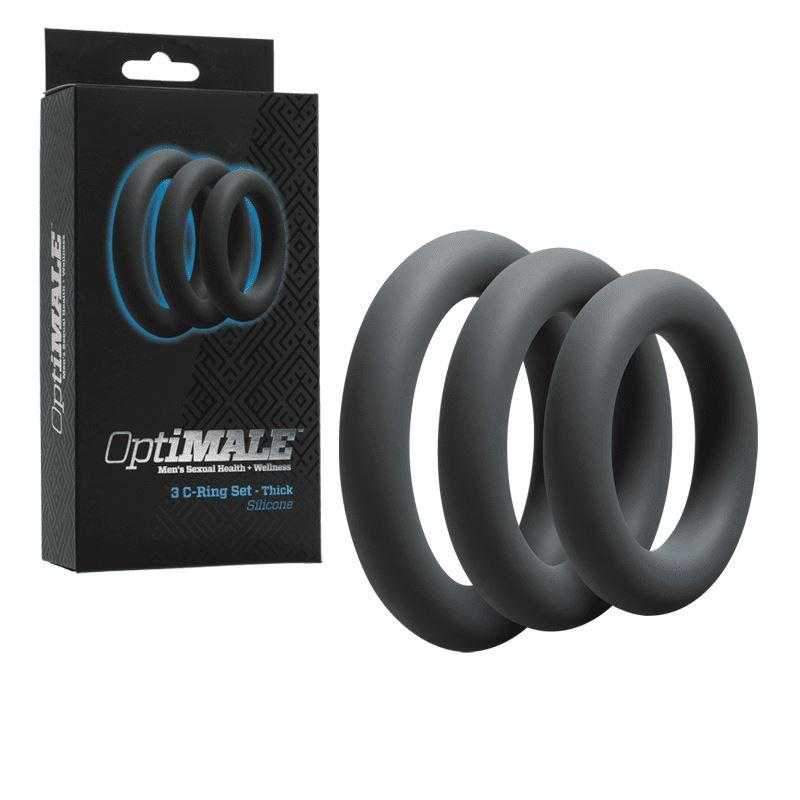 OptiMALE - 3 C-Ring Set Thick