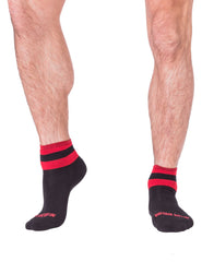 Barcode Berlin Socks Petty - Black-Red