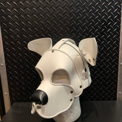 P&C CREATIONS PUP HOOD-SINGLE COLOR MULTI WHITE