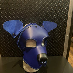 P&C CREATIONS PUP HOOD-PLAIN BLUE