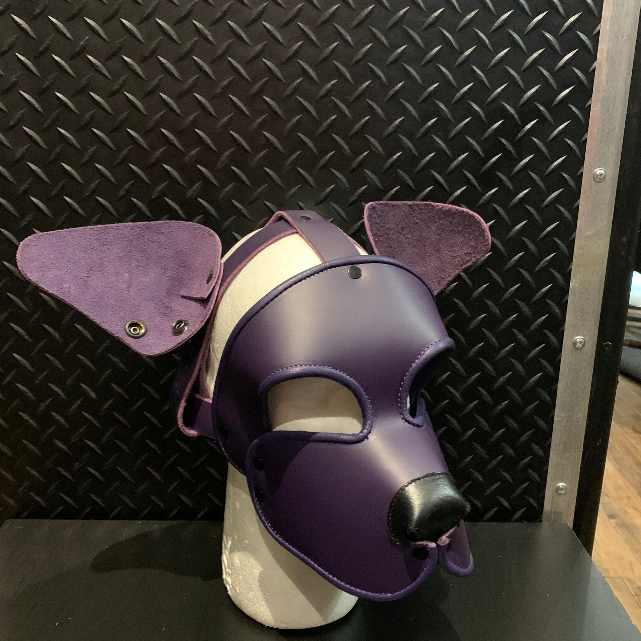 P&C CREATIONS PUP HOOD-SINGLE COLOR MULTI PURPLE