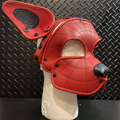 P&C CREATIONS PUP HOOD-SPIDERMAN RED AND BLACK P.P