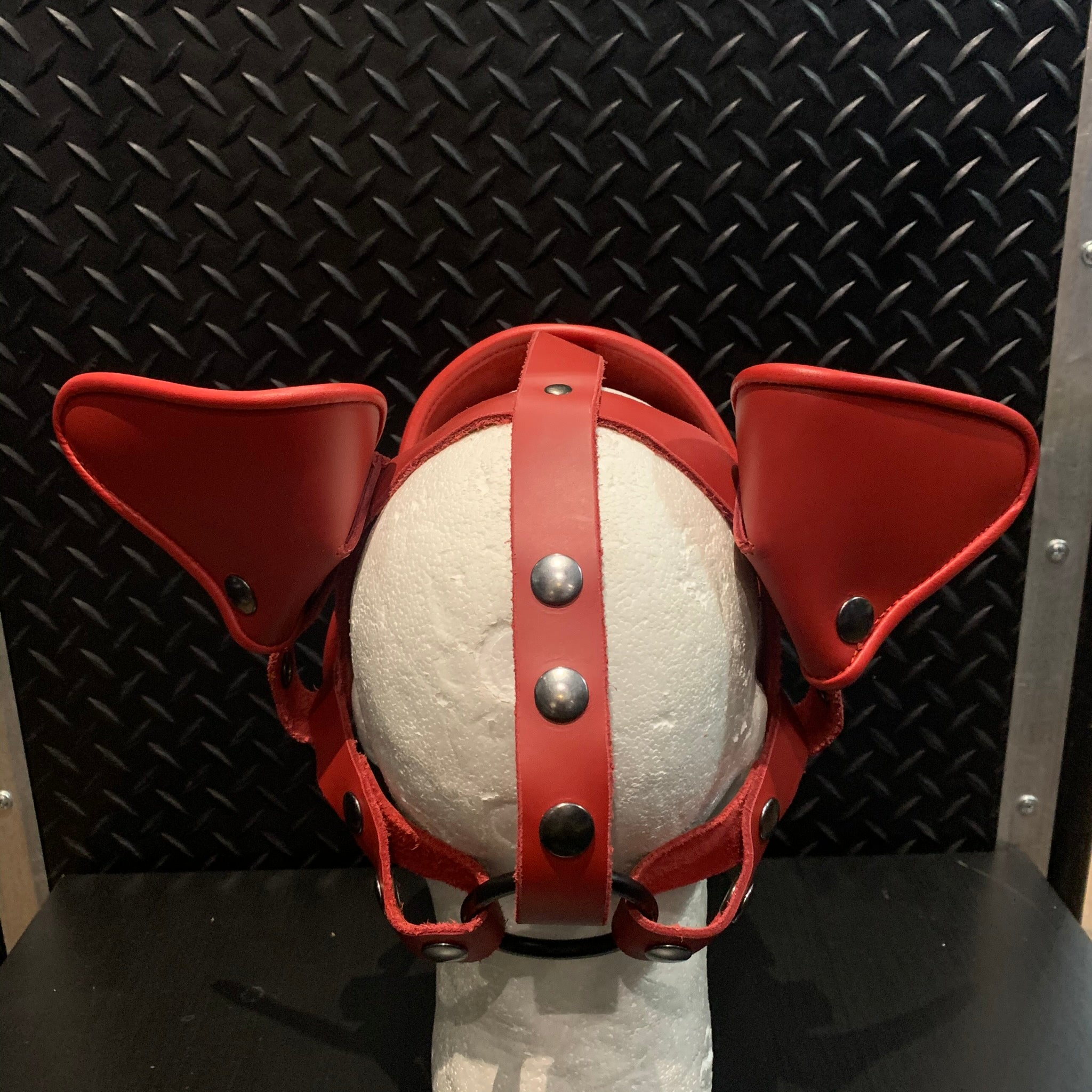 P&C CREATIONS PUP HOOD-DELUXE PUP HOOD RED