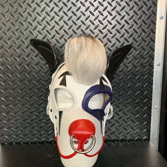 P&C CREATIONS PUP HOOD-CLOWN WITH HAIR