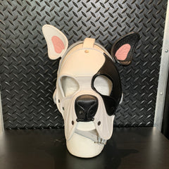 P&C CREATIONS PUP HOOD-DOG BREEDS MULTI BLACK/WHITE