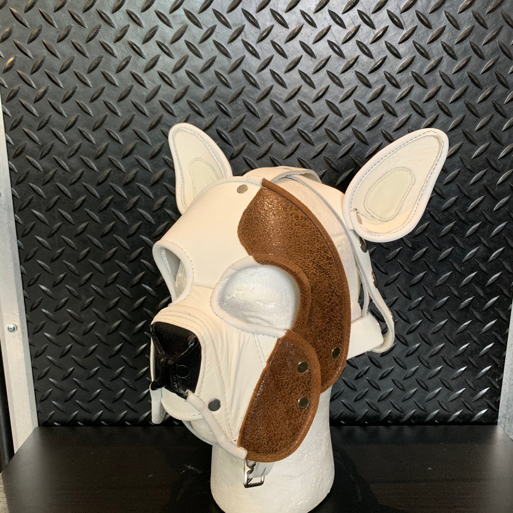 P&C CREATIONS PUP HOOD-DOG BREEDS MULTI BROWN/WHITE