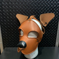 P&C CREATIONS PUP HOOD-SINGLE COLOR MULTI BROWN