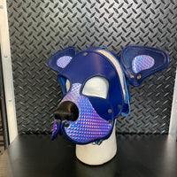 P&C CREATIONS PUP HOOD-HOLOGRAPHIC MULTI PURPLED
