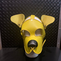 P&C CREATIONS PUP HOOD-SINGLE COLOR MULTI YELLOW