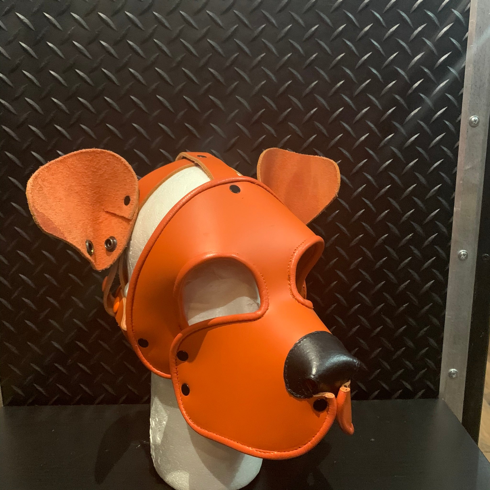 P&C CREATIONS PUP HOOD-SINGLE COLOR MULTI ORANGE