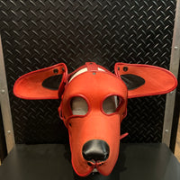 P&C CREATIONS PUP HOOD-CLIFFORD RED