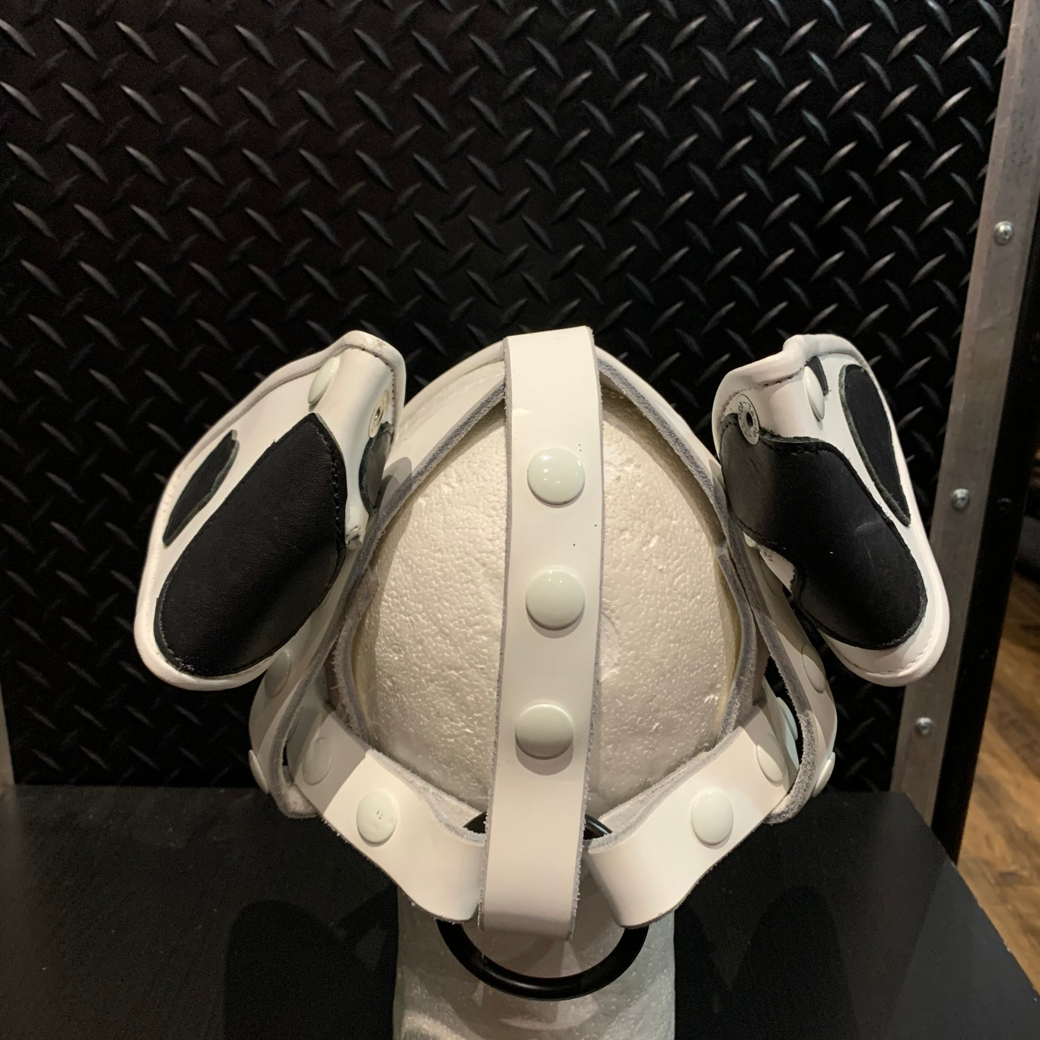 P&C CREATIONS PUP HOOD-DALMATION