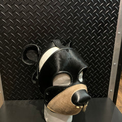 P&C CREATIONS PUP HOOD-BLACK BEAR BLACK AND BROWN
