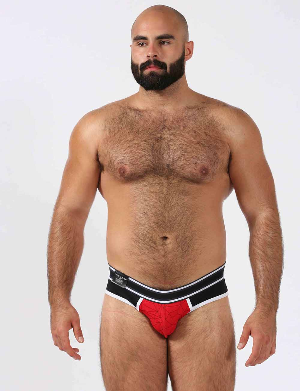Mr B urban soma gay mens underwear jock brief red