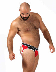 Mister B urban soma gay male underwear jock brief red