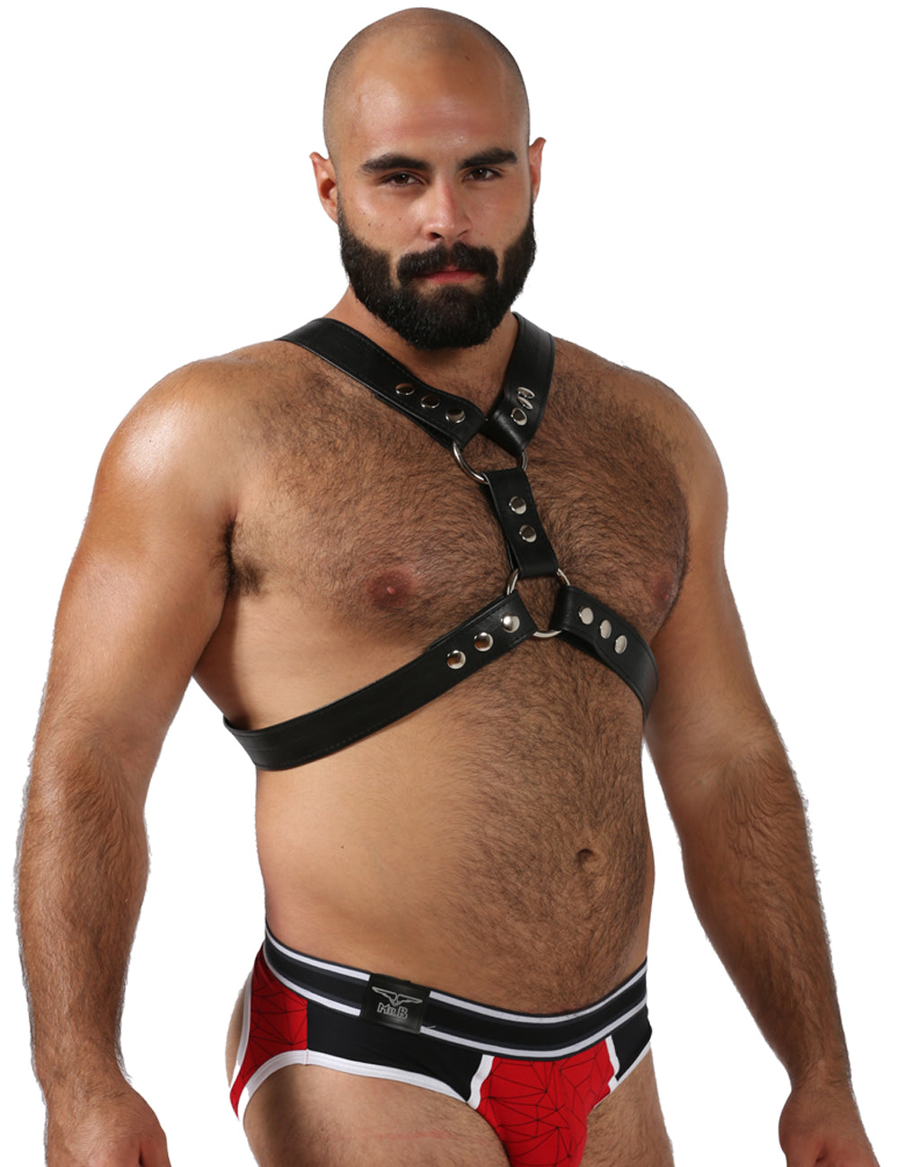 YVR Leather Chest Harness