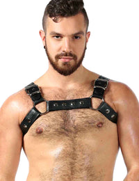 Men's Room Gay Leather Harness - YYZ