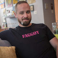 The Bearded Guy Designs T-Shirts-Faggot
