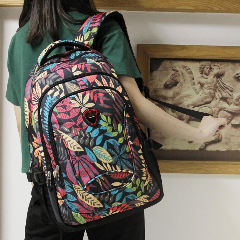 f837d6d66f Light Weight Cute Floral Print Canvas Backpack For Teen Young Girls by  TravelBagsBackPacks