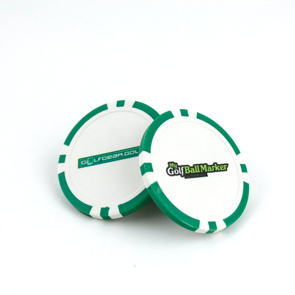 GolfGear™ Poker Chip Ball Marker | GolfGear™