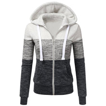 Tri Color Lightweight Autumn Hoodie