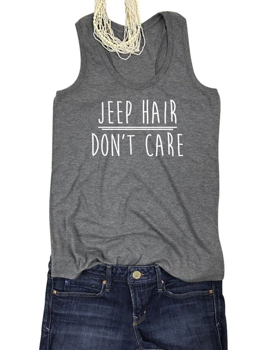 Jeep Hair Don't Care Tank