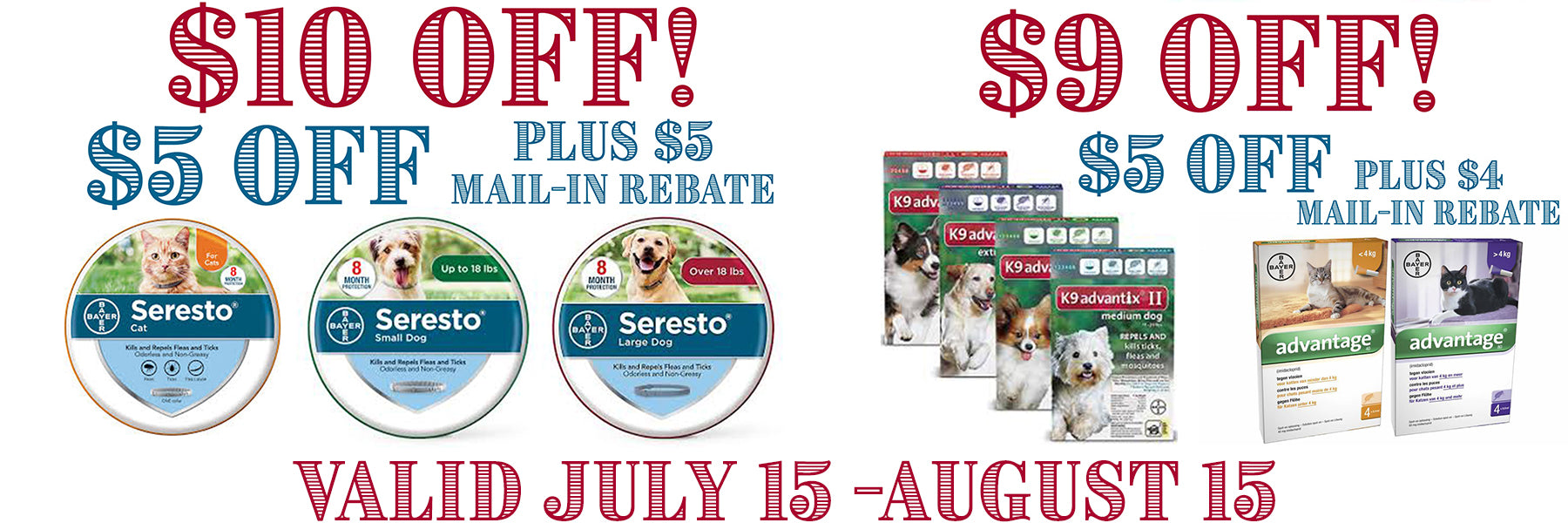 bayer july special sale