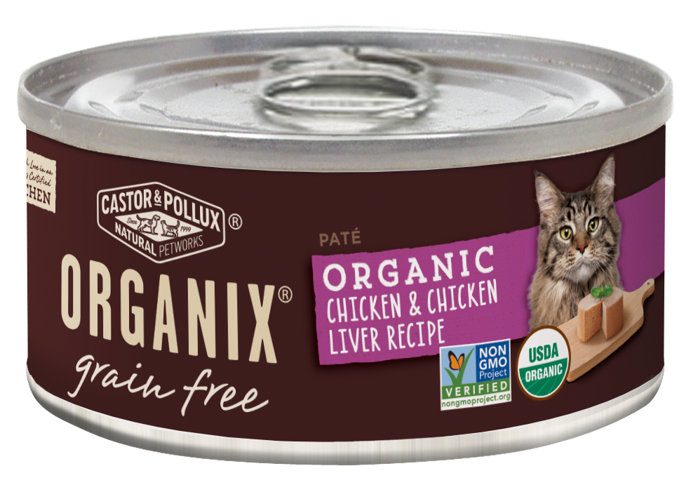 Castor and pollux organix grain free organic chicken and chicken castor and pollux organix grain free organic chicken and chicken liver recipie canned cat food forumfinder Choice Image