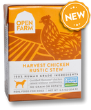 Open Farm Grain Free Harvest Chicken Recipe Rustic Stew Wet Dog Food