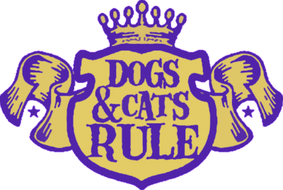Dogs and Cats Rule Logo