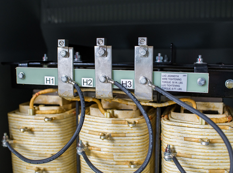 3-Phase 240V Delta - 480 Y 277 (Step Up Transformer)