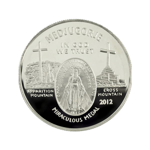 Why the Miraculous Medal Medjugorje Silver Round?